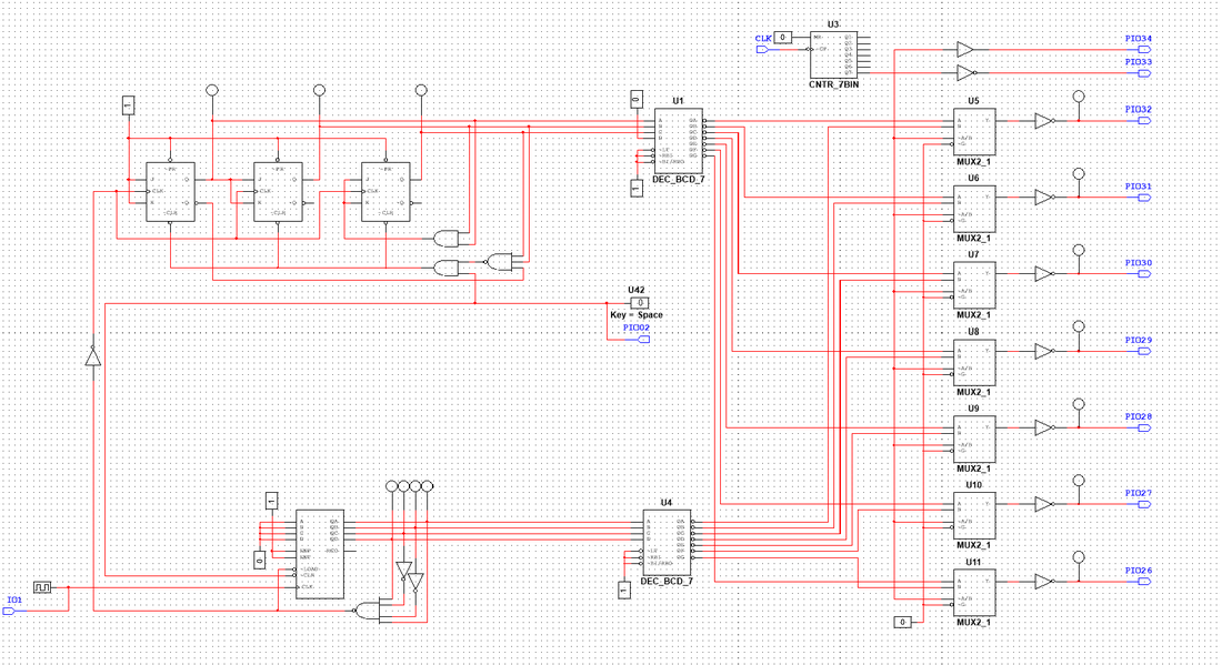 for this project we were tasked to build a circuit that counts from 0-60  using multisim  it was a difficult task